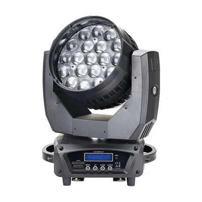 19颗LED调焦摇头灯