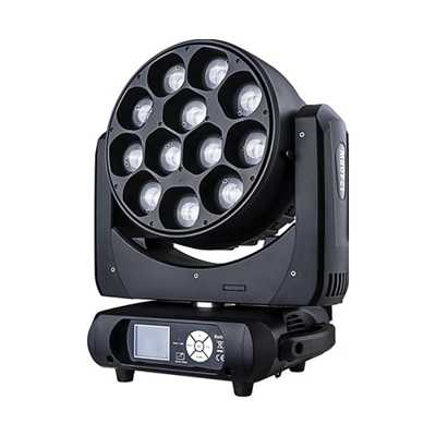 12颗40W LED调焦染色灯